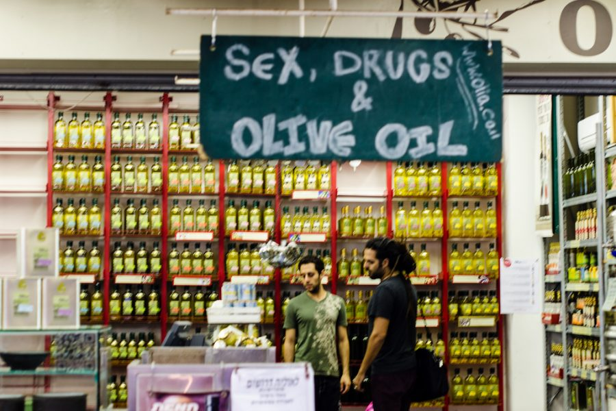 Sex Drugs and Olive Oil